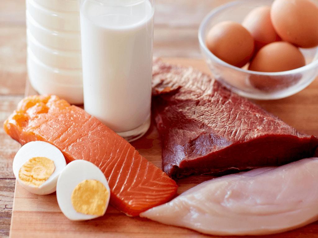Белковая диета сырые яйца