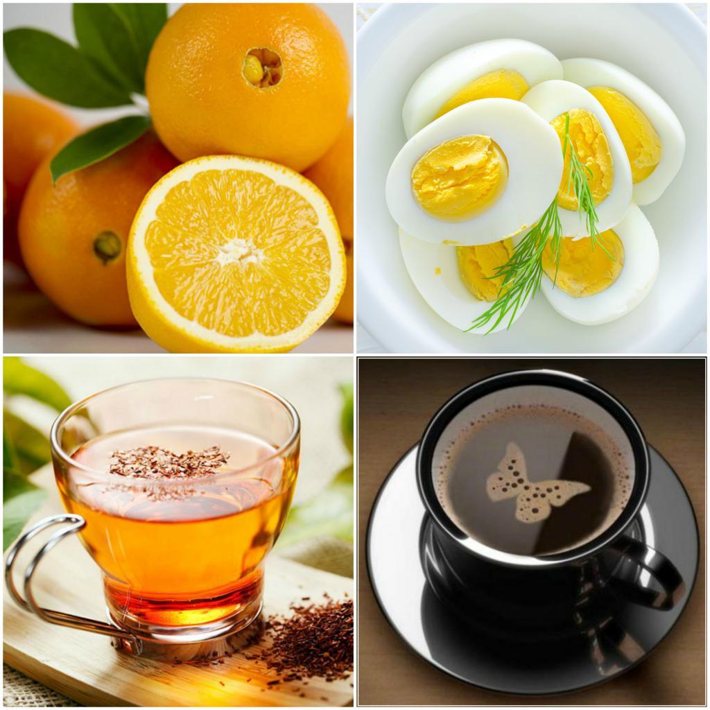 диета цитрусы и яйца