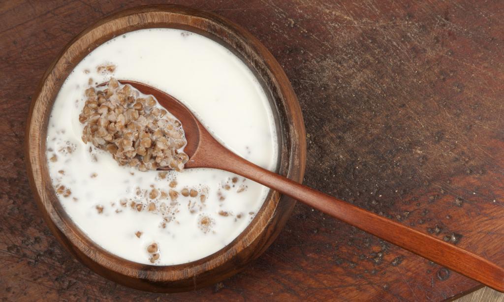 Гречка с молоком для похудения