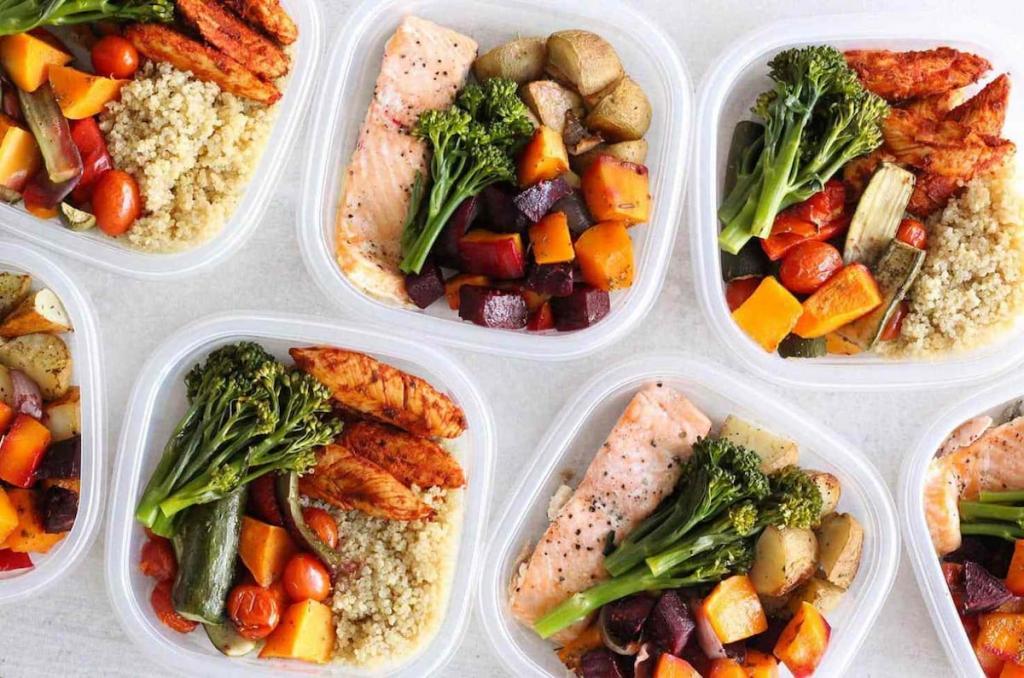 Блюда из спортивной диеты