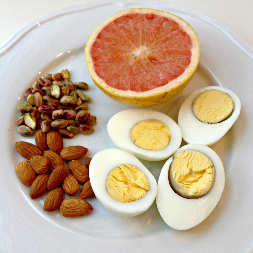 Грейпфрутовая диета яйцо