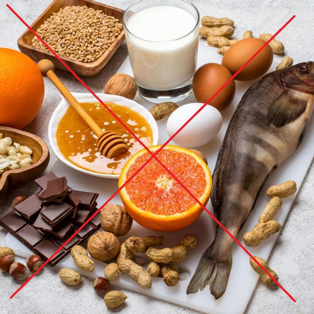 Блюда гипоаллергенной диеты